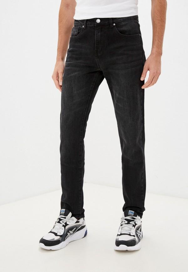 мужские зауженные джинсы baon, черные
