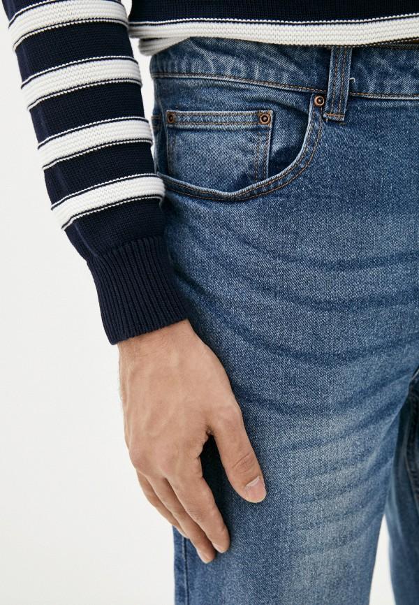 Фото 4 - Мужские джинсы Befree синего цвета