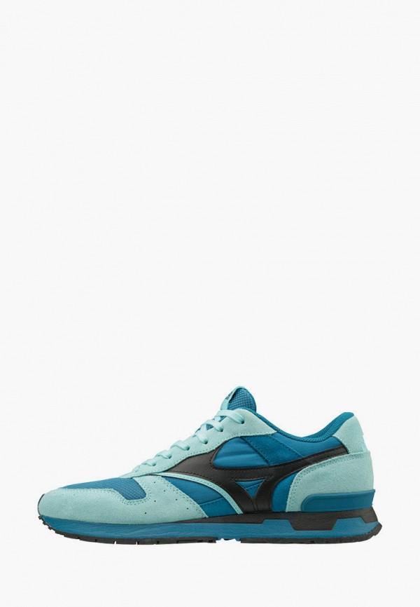 мужские кроссовки mizuno, голубые