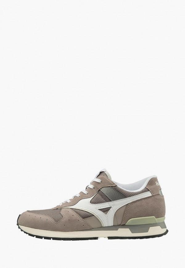 мужские кроссовки mizuno, коричневые