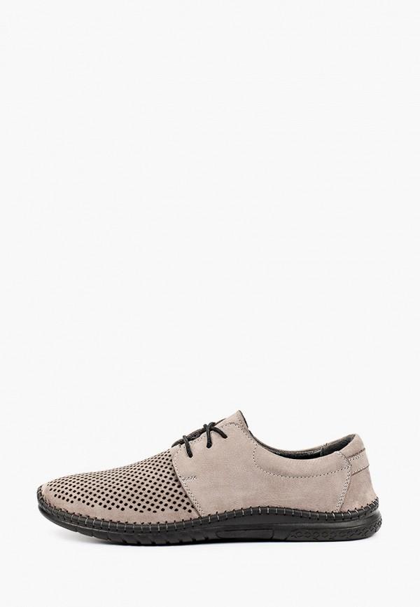 мужские низкие ботинки thomas munz, серые