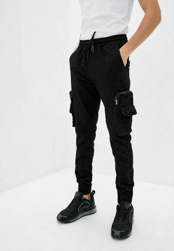 мужские брюки red polo, черные