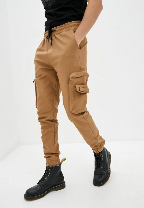 мужские брюки red polo, бежевые