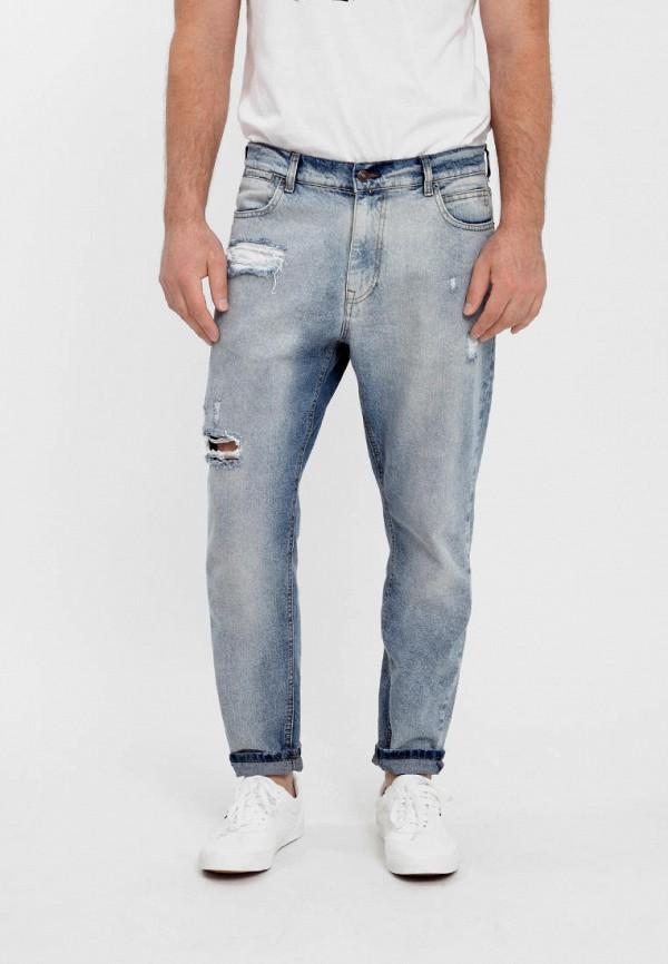 мужские джинсы f5, голубые