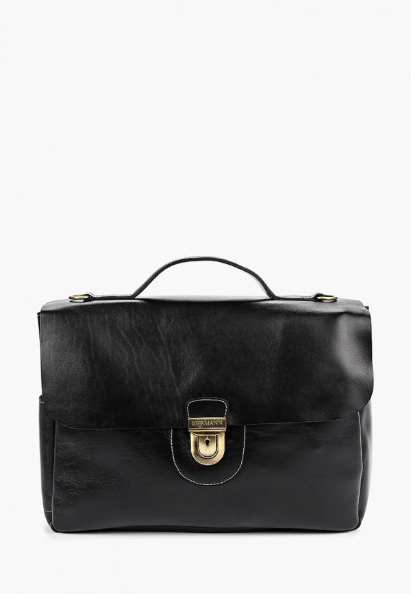 мужской портфель igermann, черный