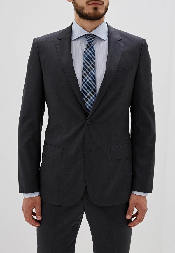 мужской пиджак hugo boss, серый
