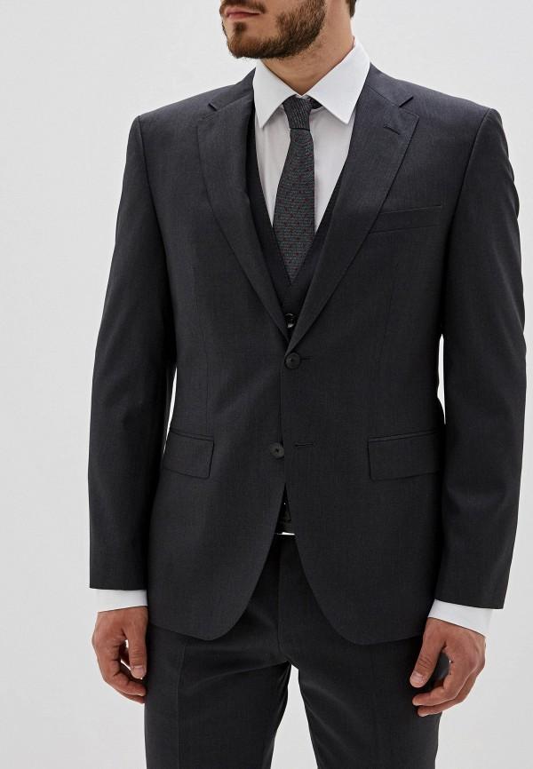 мужской кардиган hugo boss, серый