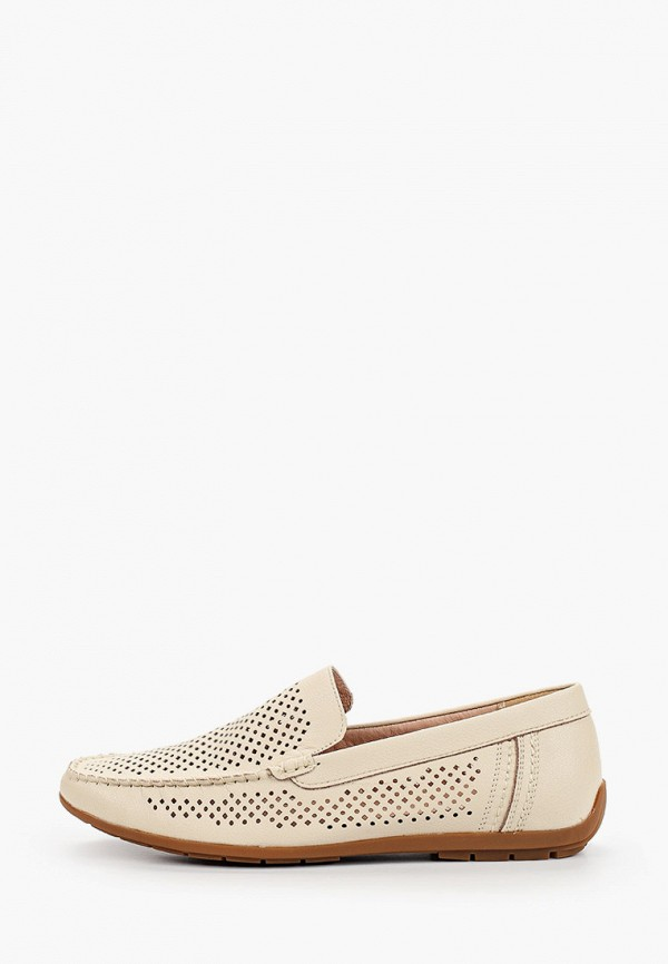 мужские мокасины munz-shoes, белые