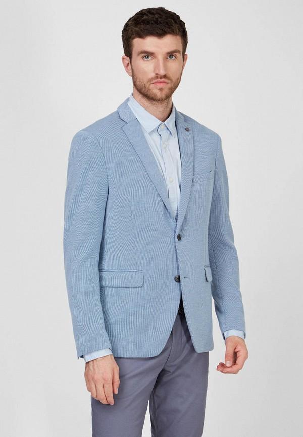 мужской пиджак esprit, голубой