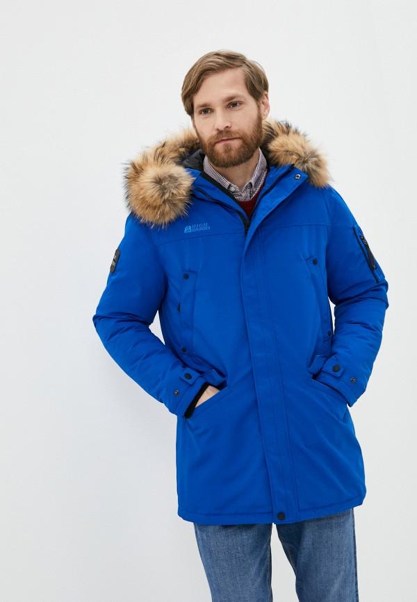 Куртка утепленная High Experience High Experience  синий фото