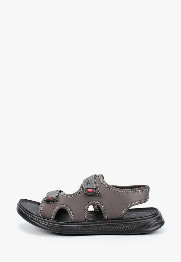 мужские сандалии zenden active, серые