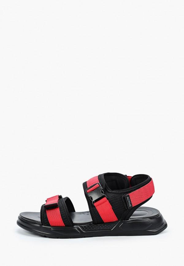 мужские сандалии zenden active, красные