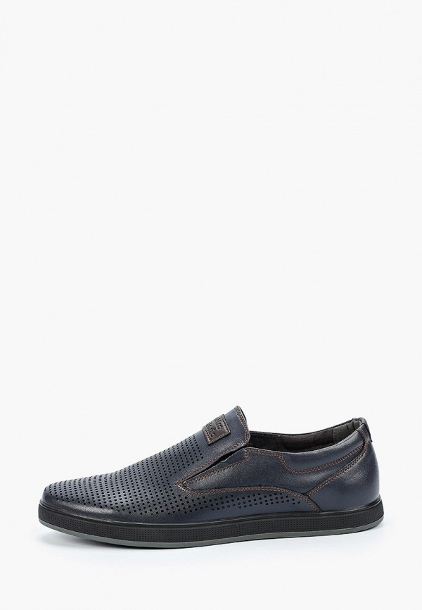 мужские туфли-дерби quattrocomforto, синие