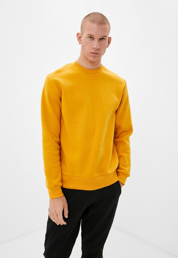 мужской свитшот befree, желтый