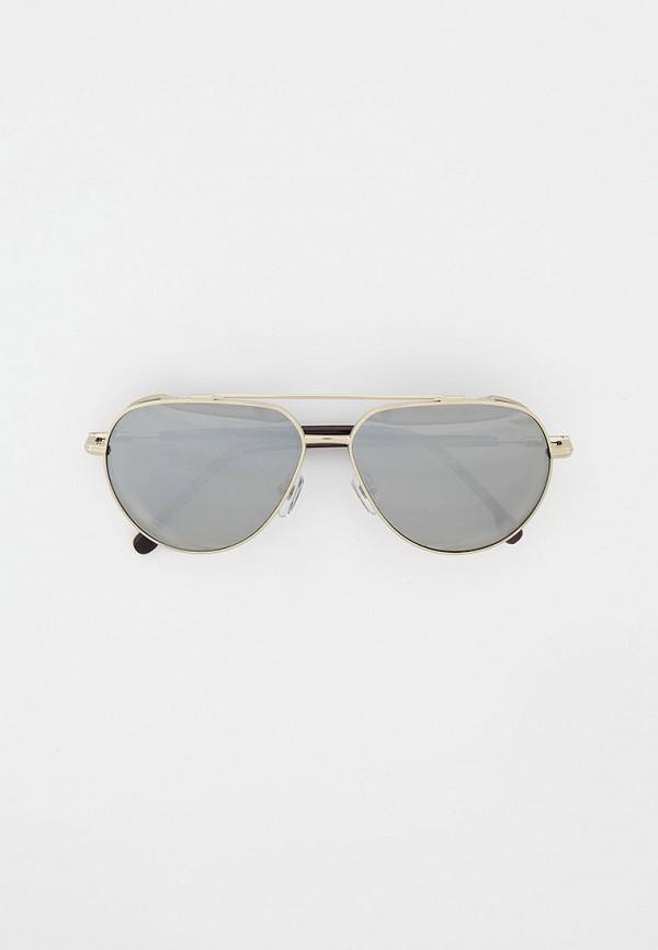 мужские авиаторы солнцезащитные очки matrix, серебряные