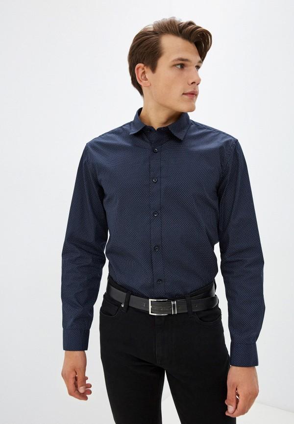 Рубашка Zolla синего цвета