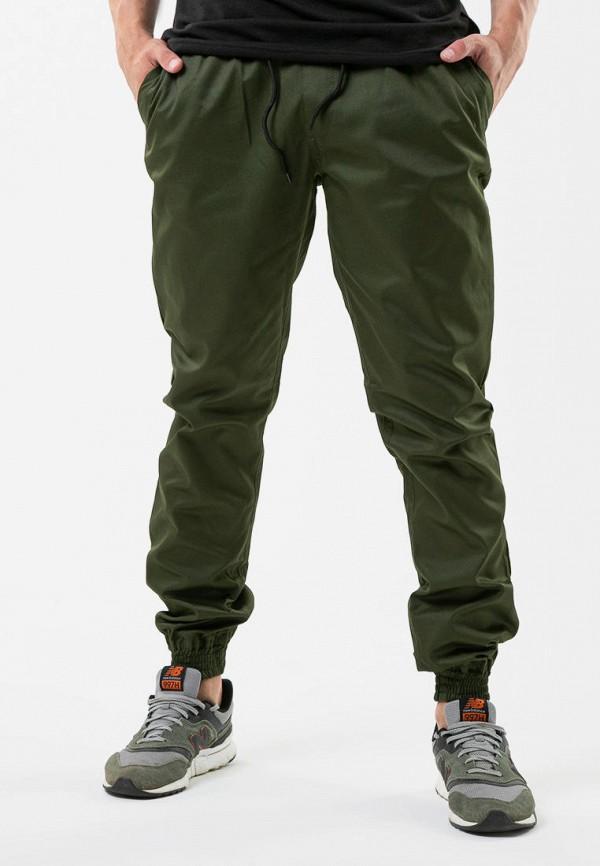 мужские брюки intruder, зеленые