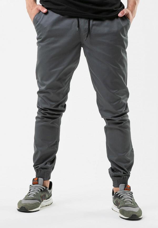 мужские брюки intruder, серые