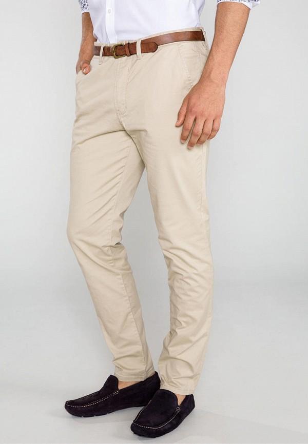 мужские повседневные брюки jack & jones, бежевые