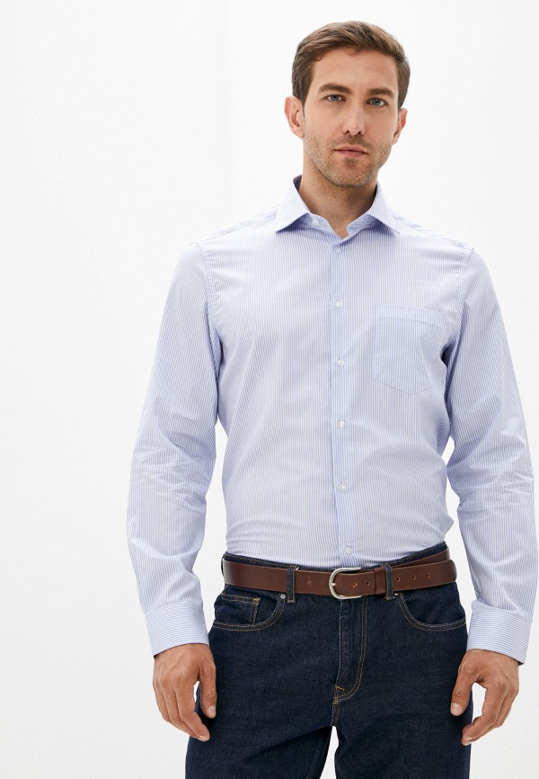 Рубашка O'stin голубого цвета