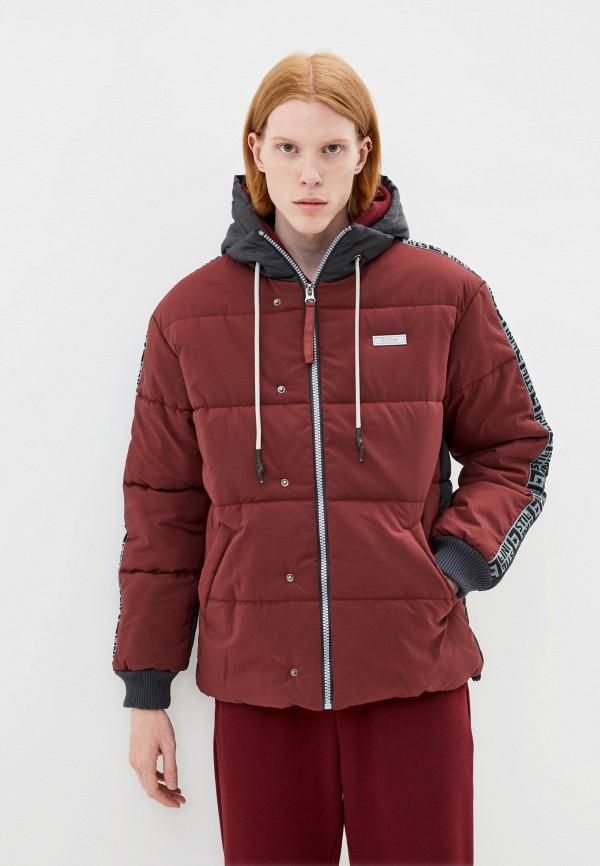 мужская спортивные куртка stillini, бордовая
