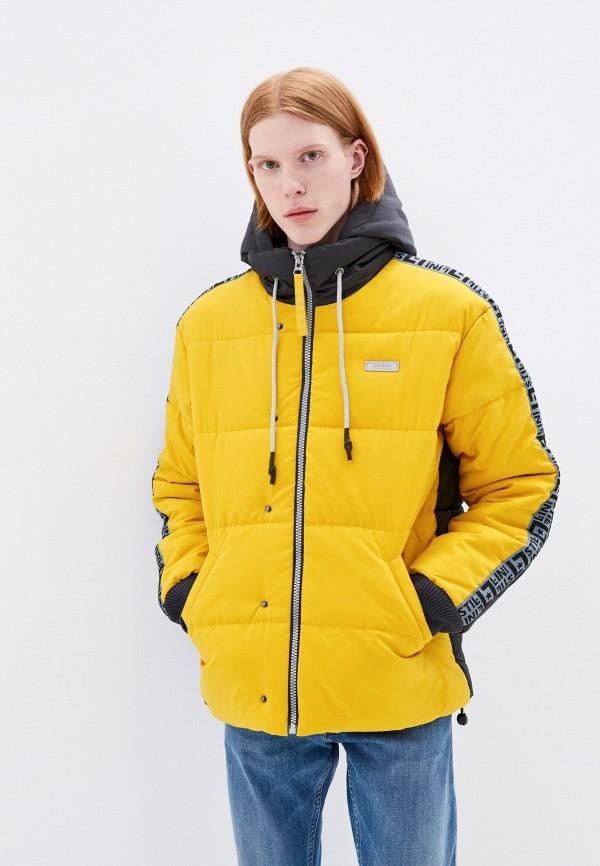 мужская спортивные куртка stillini, желтая