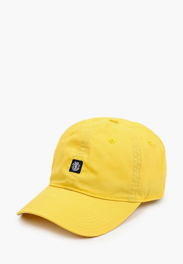 Бейсболка Element желтого цвета
