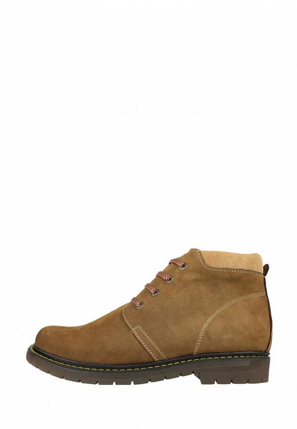 мужские ботинки libero, коричневые