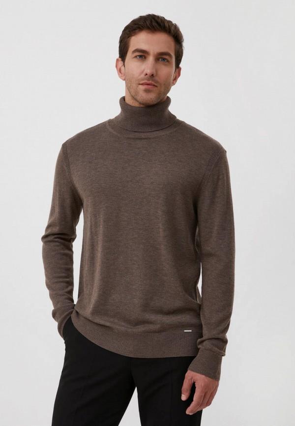 Водолазка Finn Flare коричневого цвета