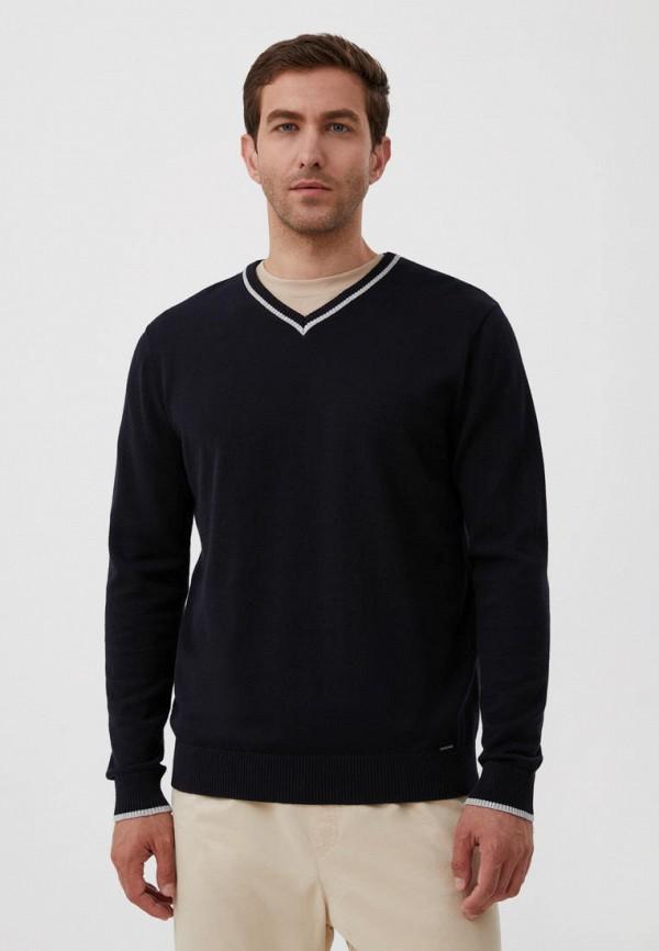 Пуловер Finn Flare синего цвета