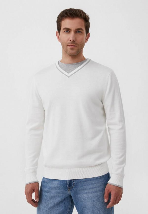Пуловер Finn Flare белого цвета
