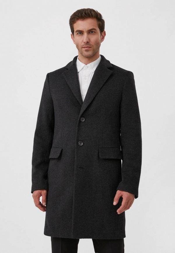 Пальто Finn Flare серого цвета