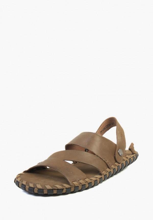 мужские сандалии airbox, коричневые