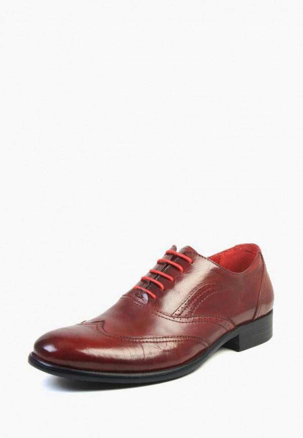мужские туфли airbox, бордовые