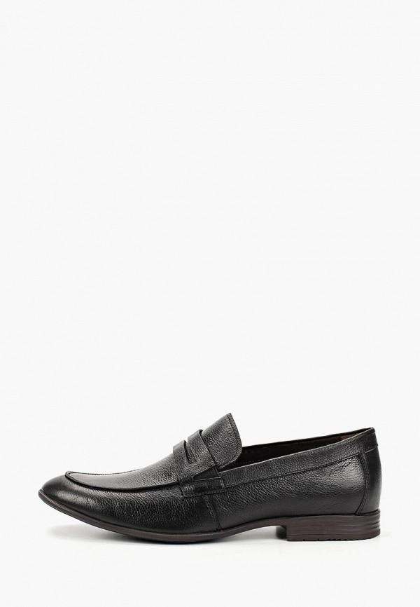 мужские лоферы m.shoes, черные