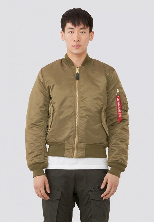 мужская куртка alpha industries, хаки