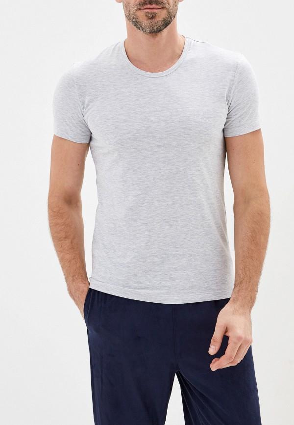 мужская футболка montero, серая