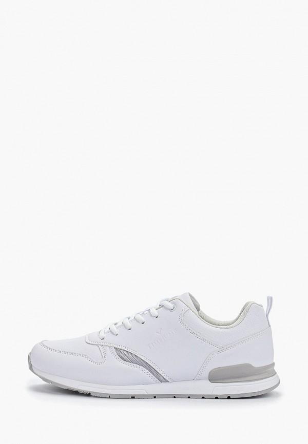 мужские кроссовки timejump, белые