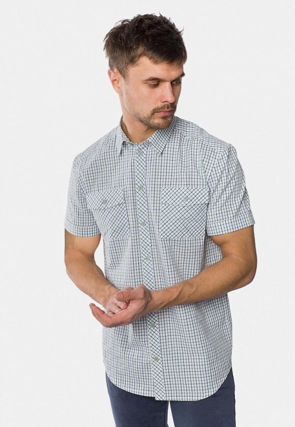 мужская рубашка с коротким рукавом mr520, белая
