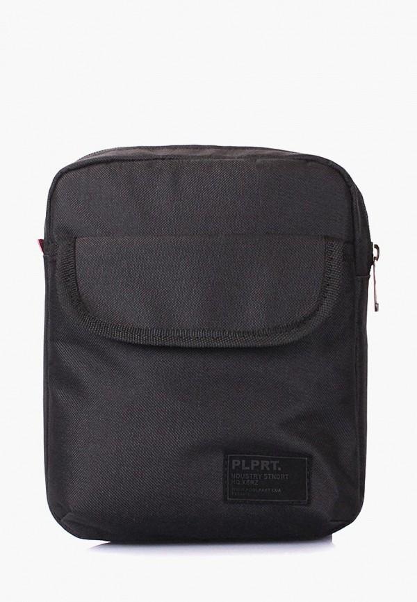 мужская сумка poolparty, черная
