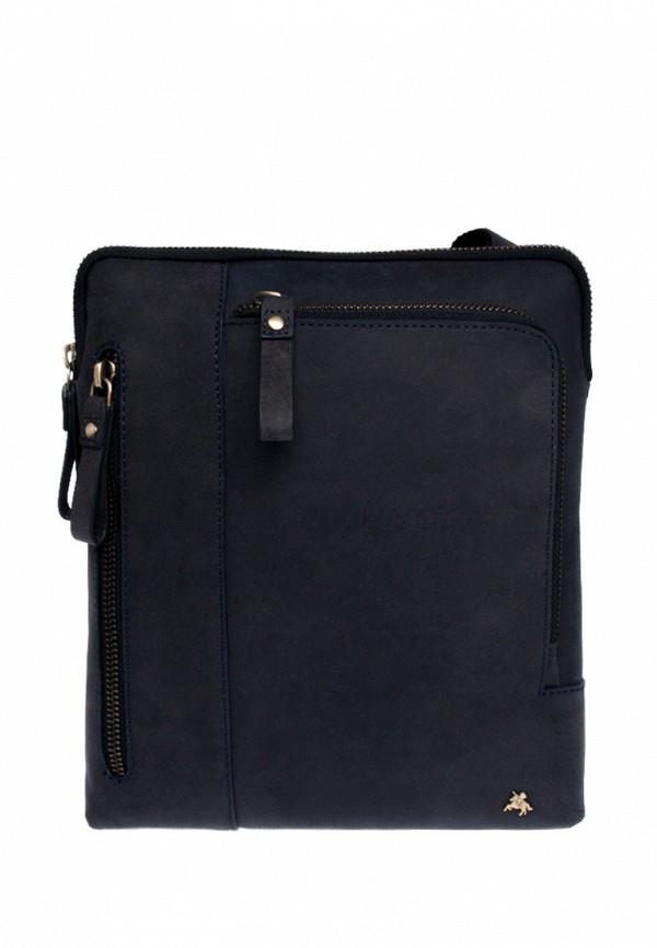 мужская сумка visconti, синяя
