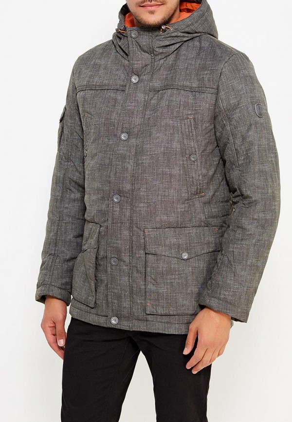 Купить Куртка утепленная Finn Flare, MP002XM0W451, зеленый, Осень-зима 2017/2018