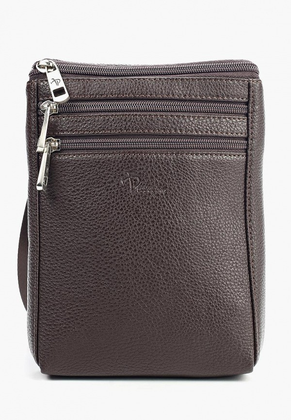 мужская сумка pellecon, коричневая