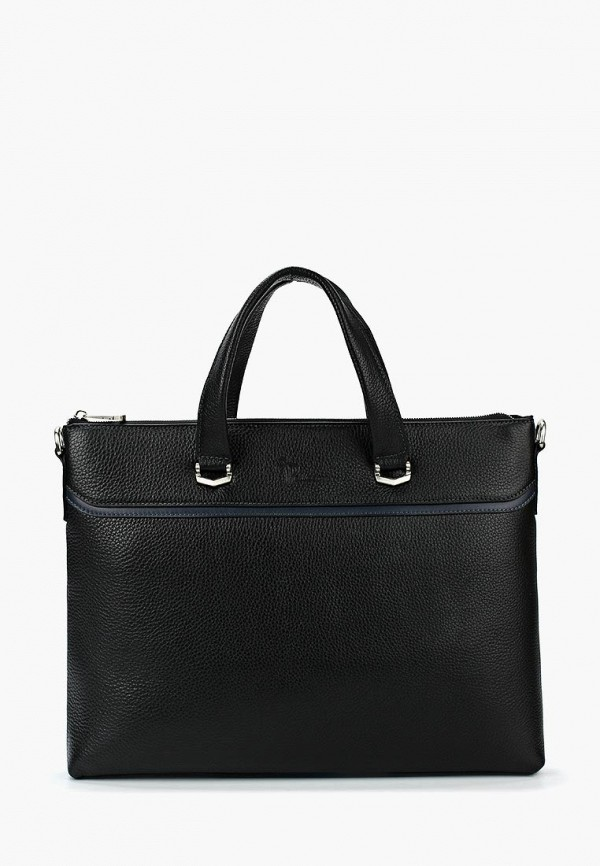 мужская сумка через плечо pellecon, черная