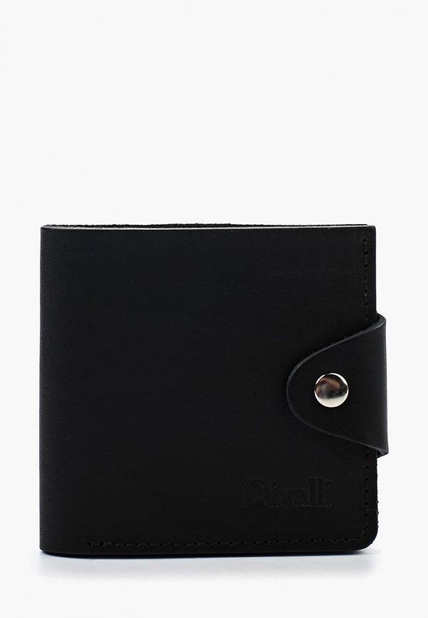 мужской кошелёк divalli, черный