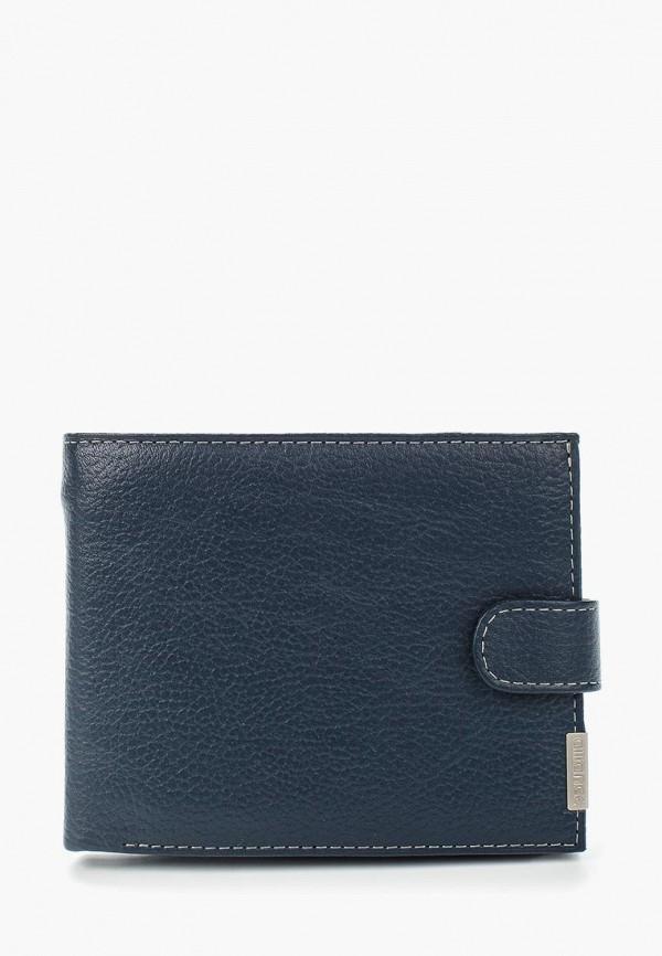 мужское портмоне franchesco mariscotti, синее