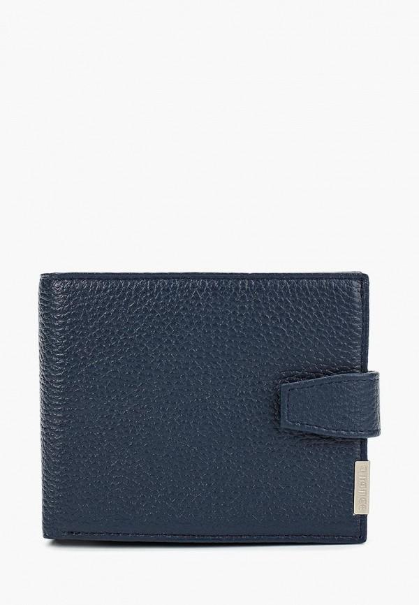 мужской кошелёк baron, синий