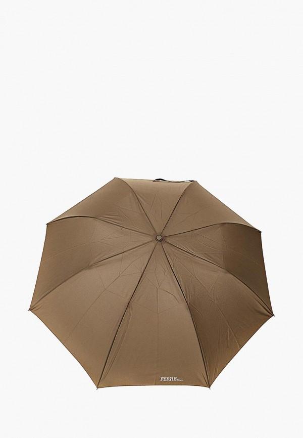 мужской зонт gf ferre, хаки
