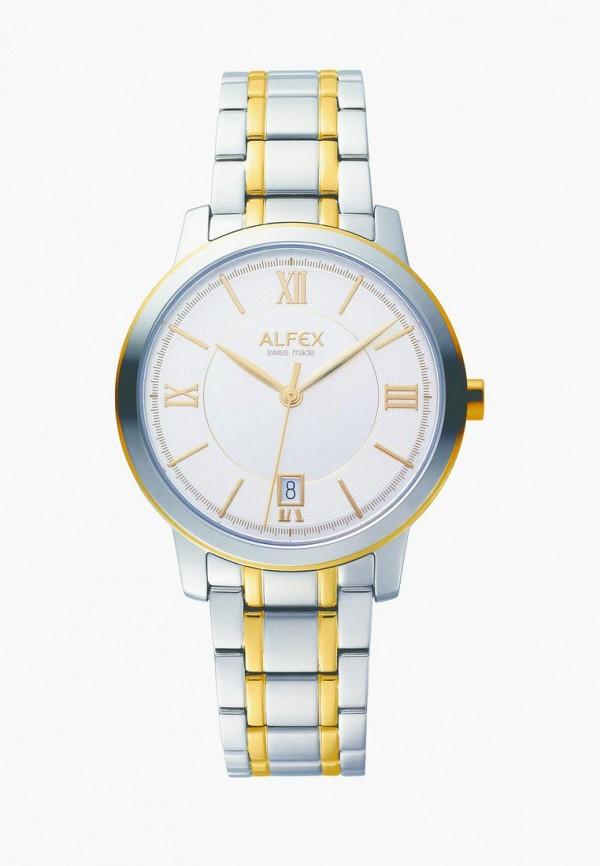 мужские часы alfex, золотые