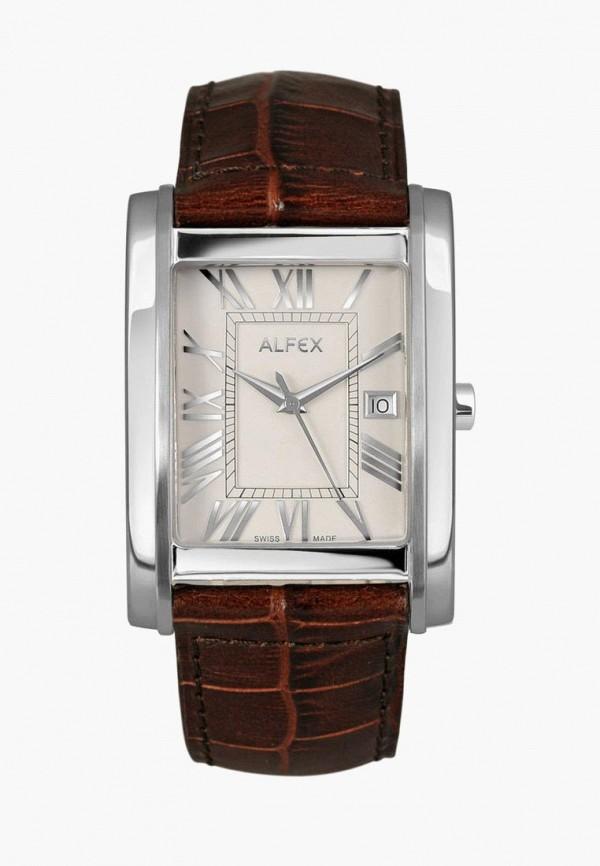 мужские часы alfex, коричневые
